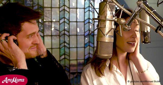 Michael Bublé finalmente halla su 'pareja vocal perfecta', y su dueto te quitará el aliento