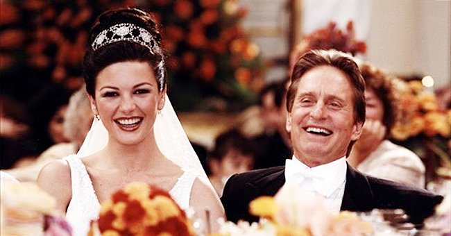 Kirk Douglas Gives Advice to Son Michael on His 19th Wedding Anniversary with Catherine Zeta-Jones