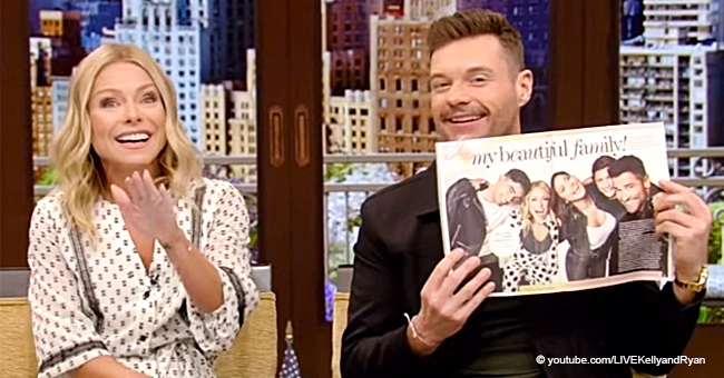 Kelly Ripa Reveals Pic of Her 'Most Beautiful Family on Earth' that She Chose as a Christmas Card