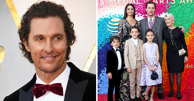 Matthew McConaughey Is a Doting Husband and Proud Dad of 3 Beautiful Kids