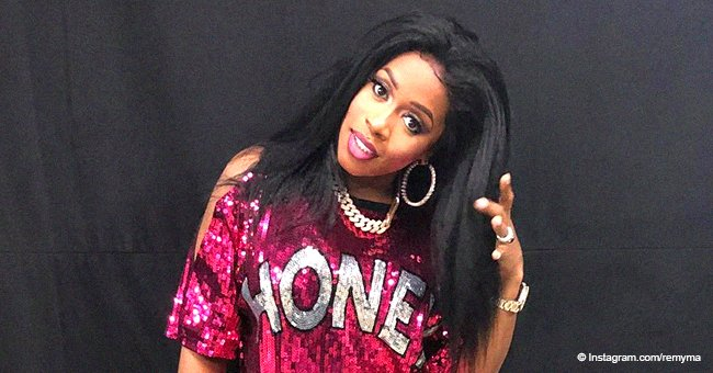 Remy Ma proudly flaunts snapback body just over a month after welcoming her 'golden child'