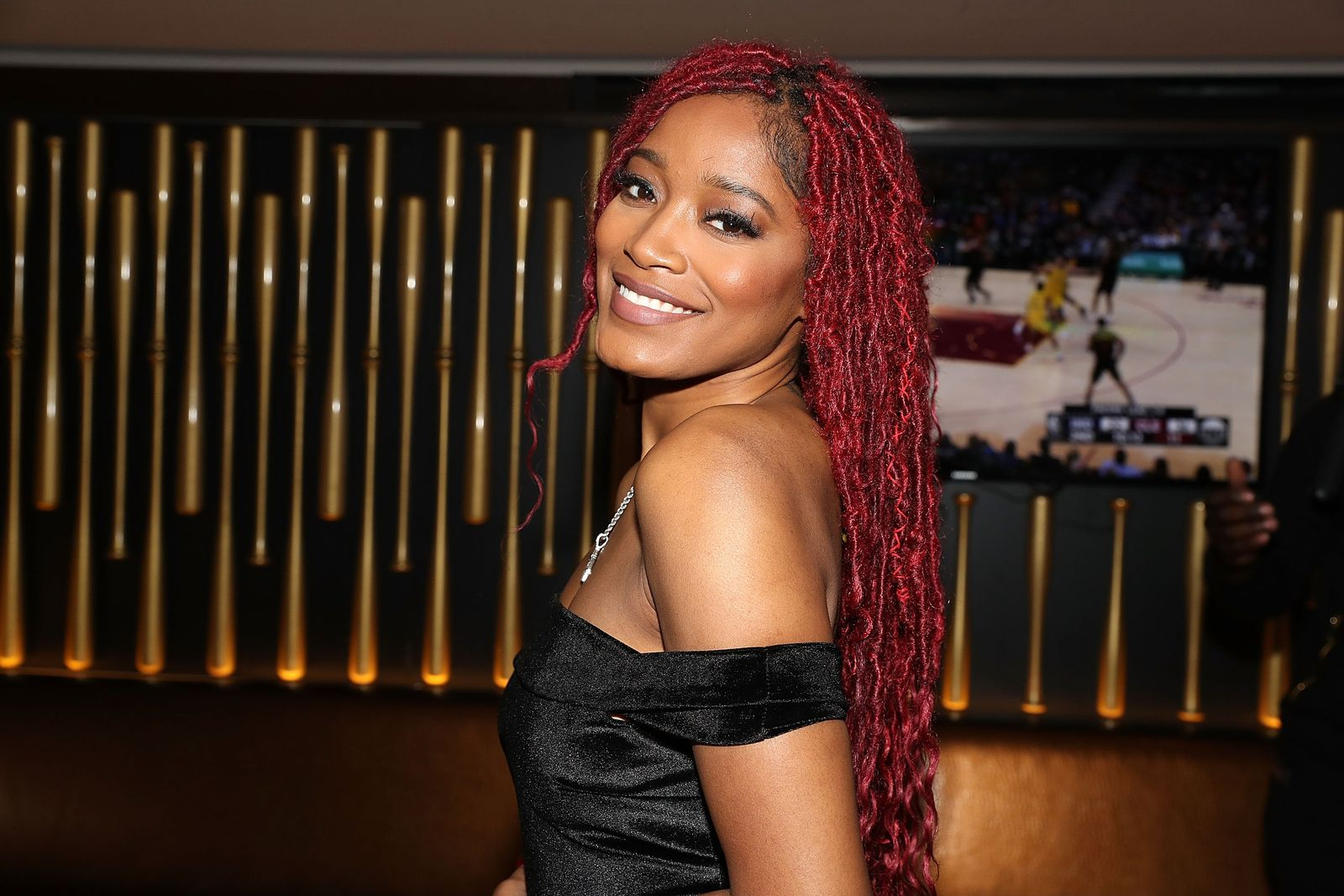 Keke Palmer attends her listening party at the 40/40 club in 2018 | Source: Getty Images/GlobalImagesUkraine