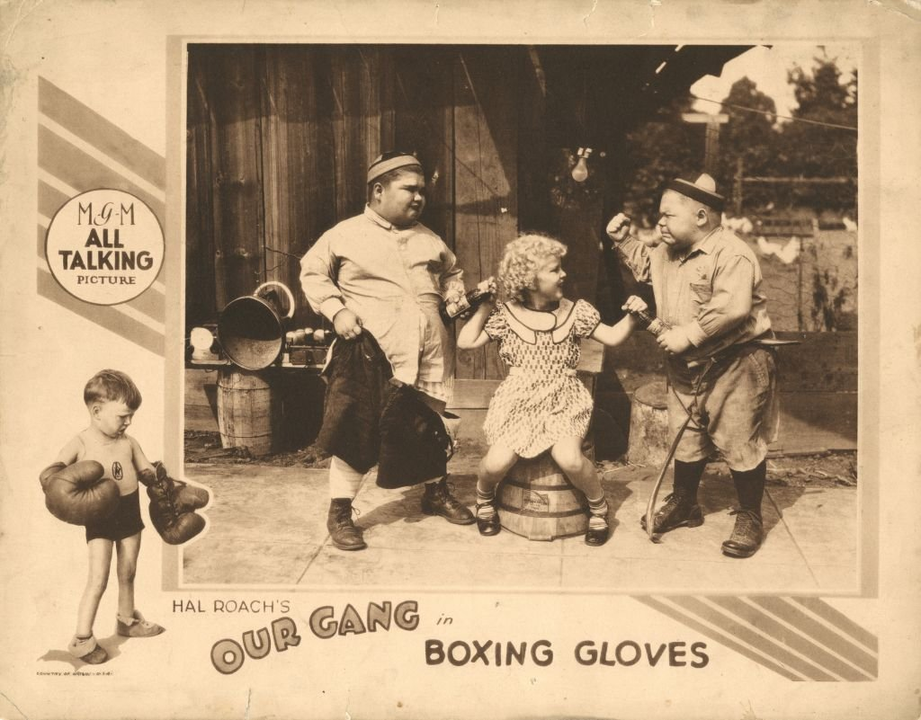 """Joe Cobb, Jean Darling, and Norman 'Chubby' Chaney, from """"Our Gang,"""" circa 1929   Photo: Getty Images"""