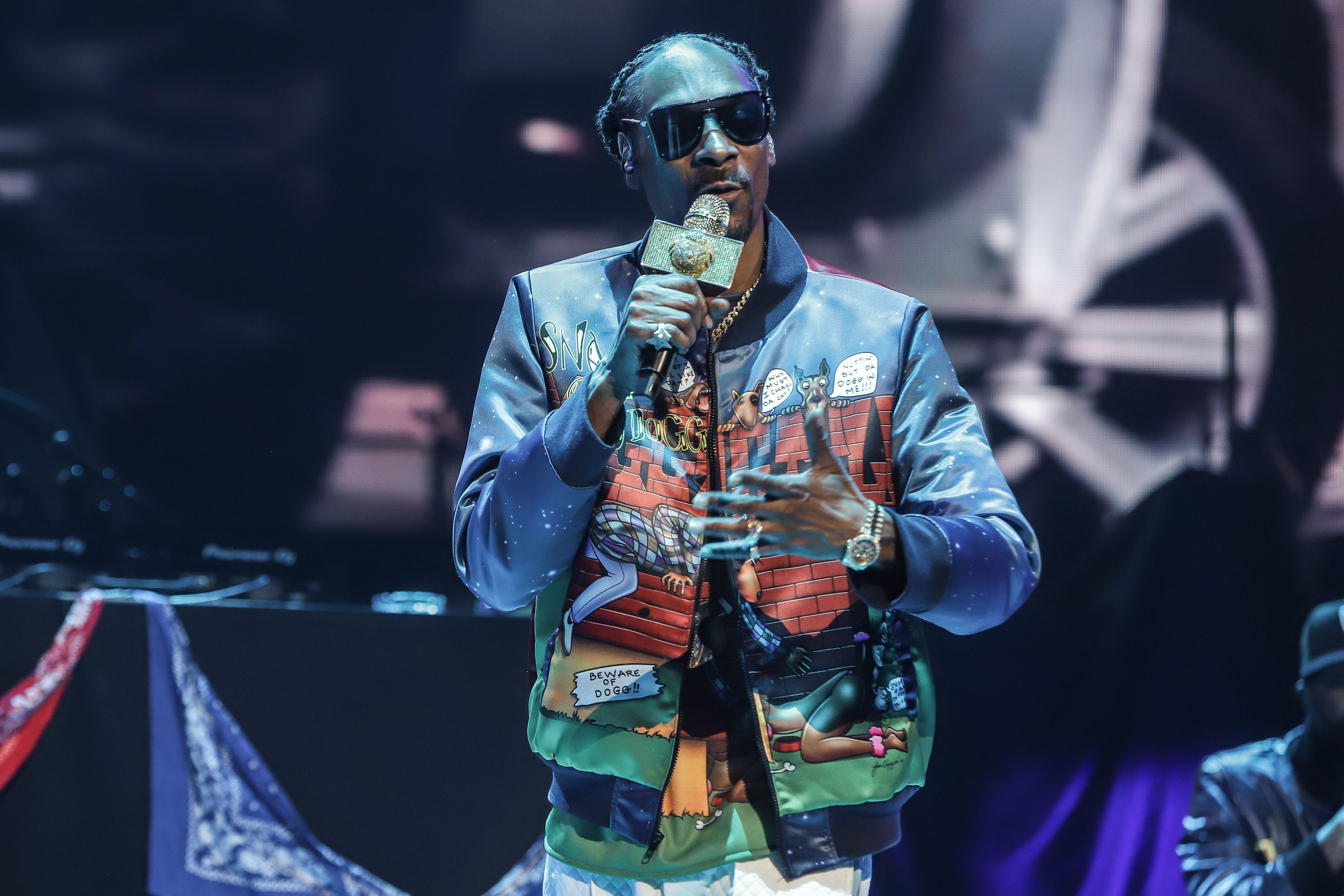 Snoop Dogg performs at the Bud Light Super Bowl Music Fest on January 31, 2020.   Photo: Getty Images