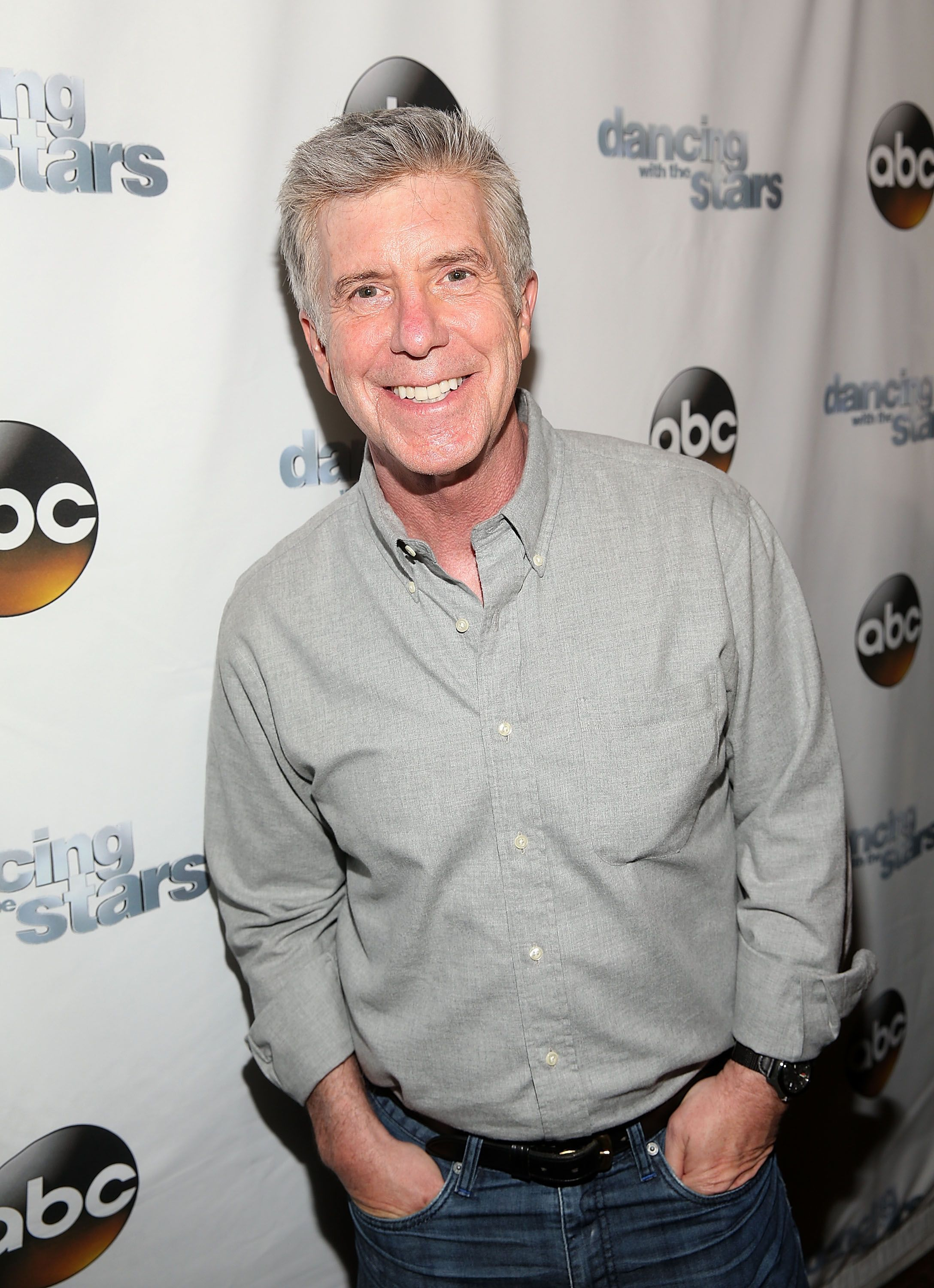 "Tom Bergeron at the ""Dancing With The Stars"" semi-finals episode celebration at Mixology Grill and Lounge on May 16, 2016, in Los Angeles, California 