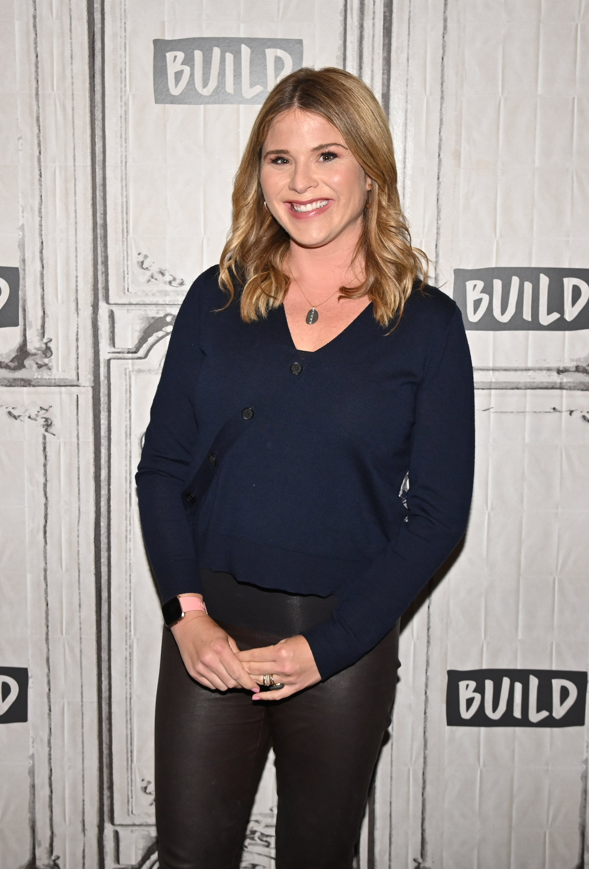 Jenna Bush Hager visits Build at Build Studio in New York City on April 8, 2019 | Photo: Getty Images