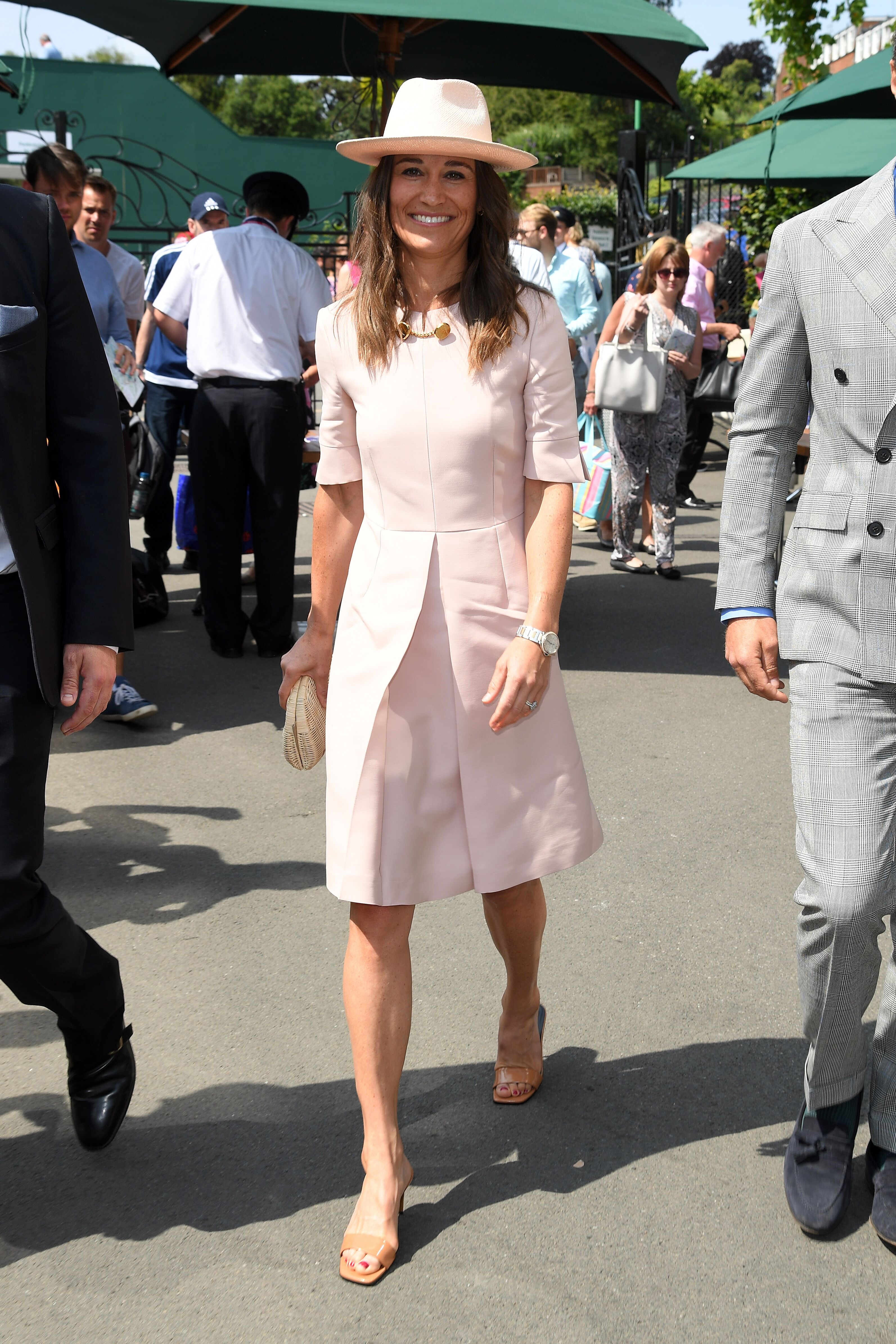 Pippa Middleton radieuse. l Source : Getty Images
