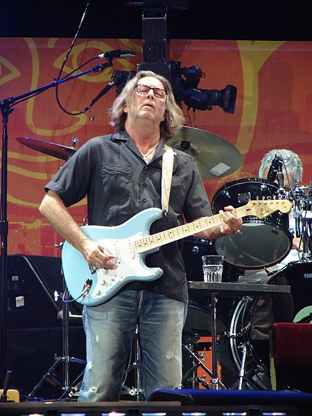 Eric Clapton, June 26, 2009. | Source: Getty Images