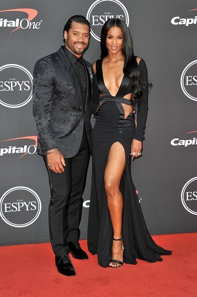 Russell Wilson and Ciara at the 2019 ESPY Awards on July 10, 2019 | Photo: Getty Images