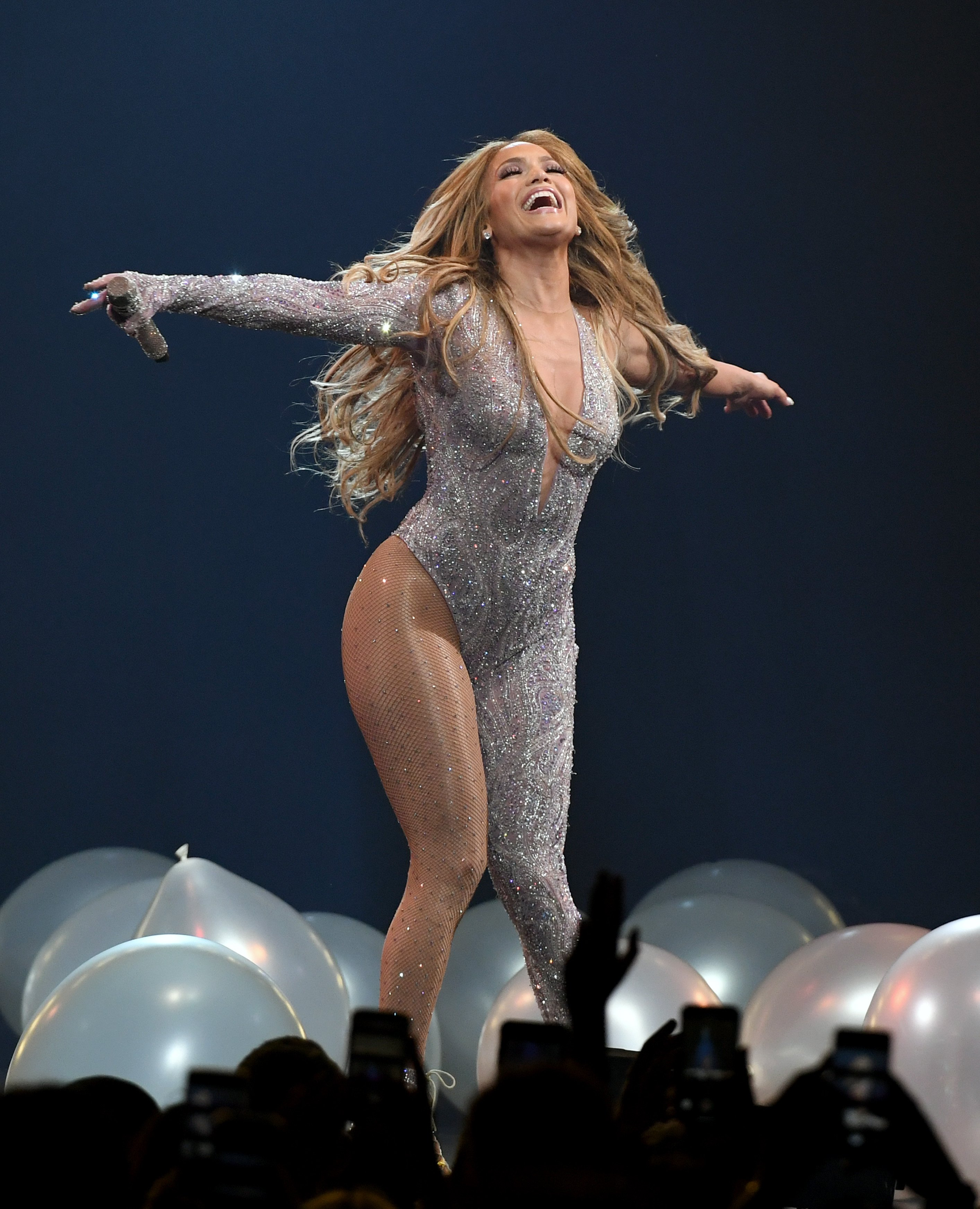 "Jennifer Lopez performs at her ""It's My Party"" concert in Las Vegas 