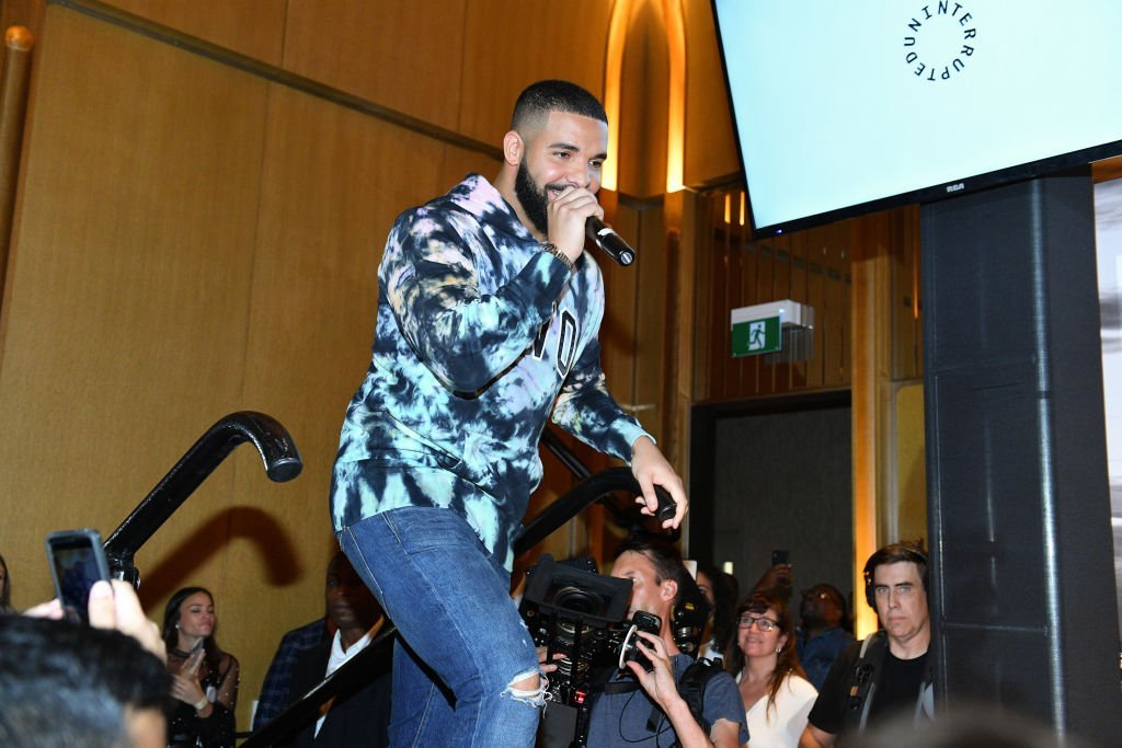 Drake attends the Uninterrupted Canada Launch held at Louis Louis at The St. Regis Toronto. | Photo: Getty Images