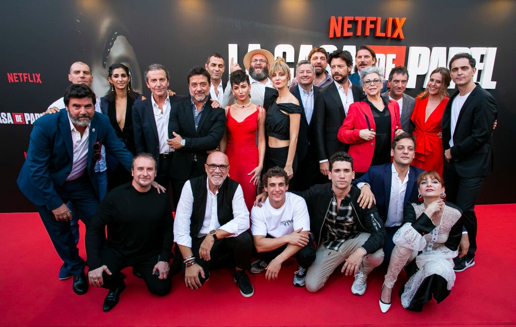 Elenco de La Casa de Papel.| Fuente: Getty Images