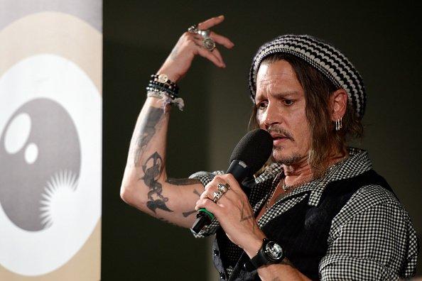 Johnny Depp, Zürich, Schweiz, 2018 | Quelle: Getty Images