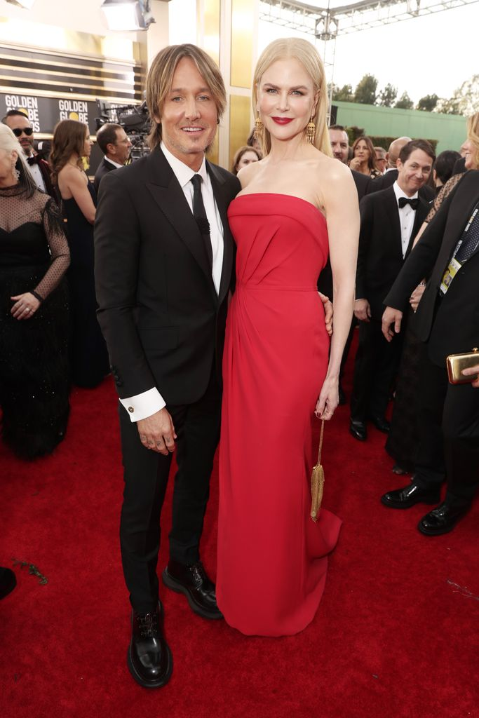 Keith Urban and Nicole Kidman during the 77th Annual Golden Globe Awards on January 5, 2020 | Source: Getty Images
