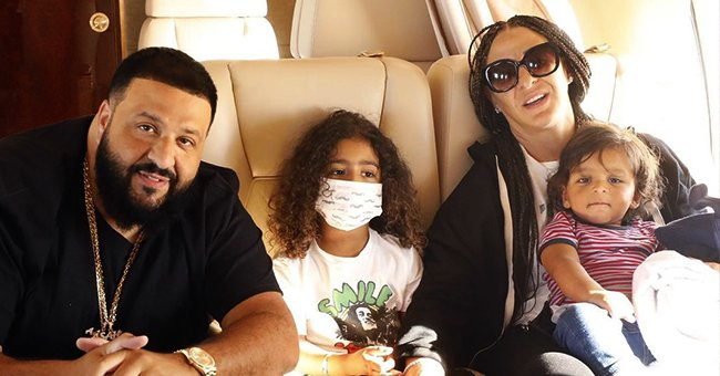 DJ Khaled's Wife Nicole & Their Adorable Sons Look Stylish in Matching Dolce & Gabbana Outfits