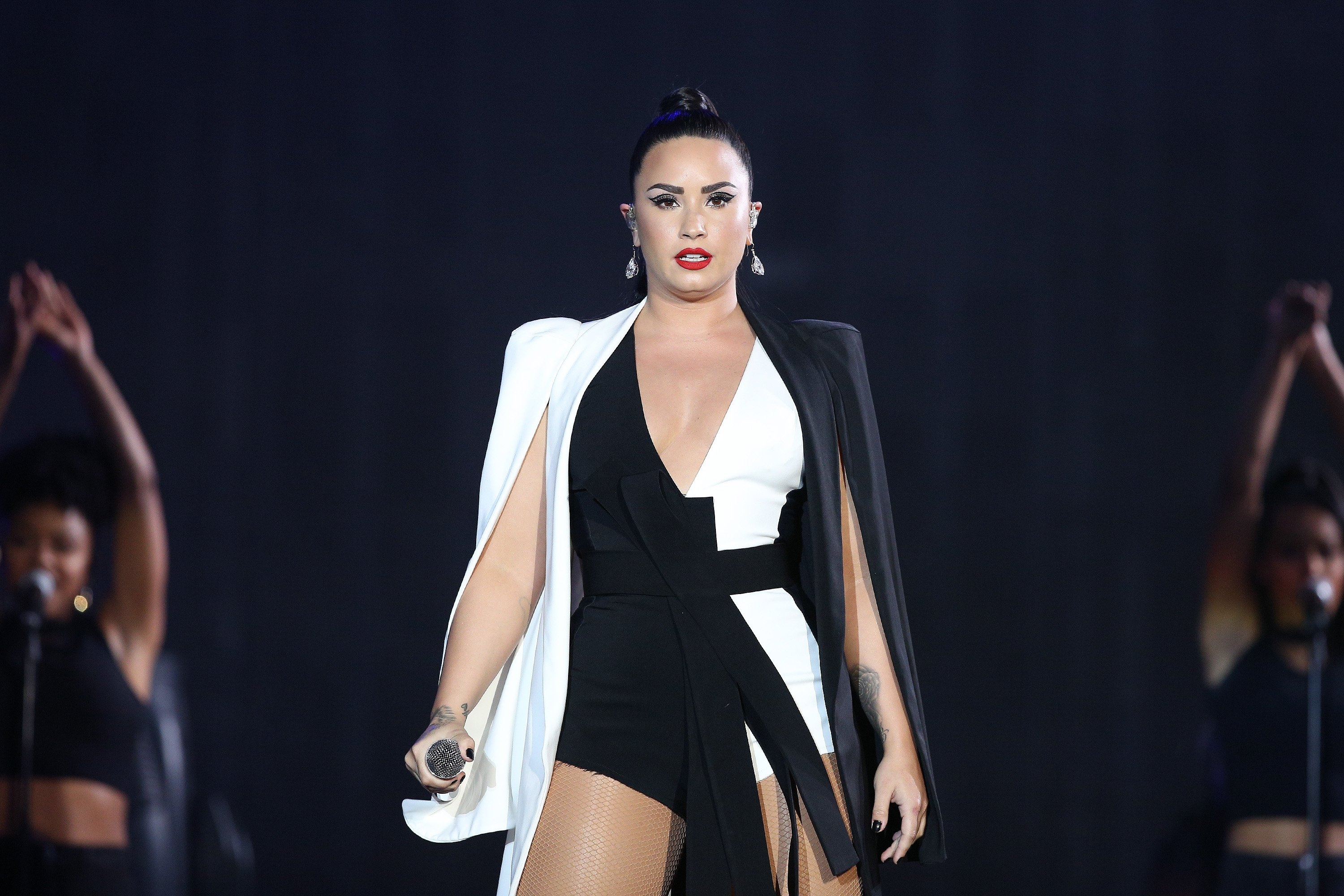 Demi Lovato performs at the Rock in Rio Lisboa 2018 music festival in Lisbon, Portugal, on June 24, 2018 | Photo: Getty Images