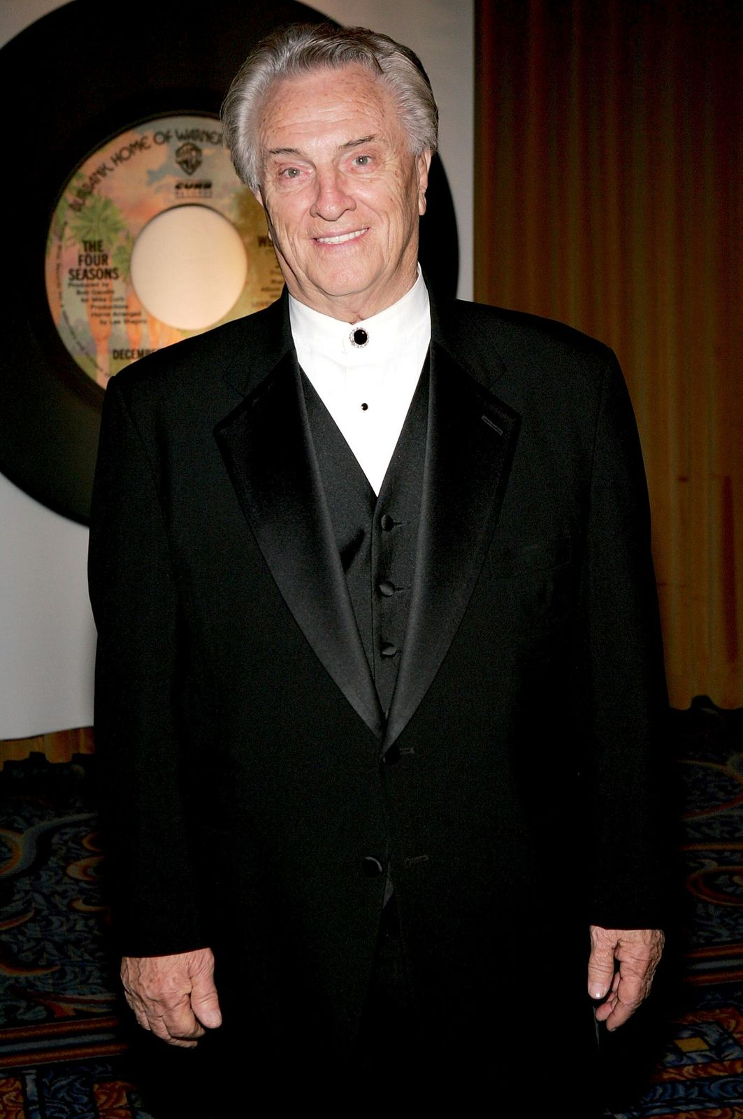 """Tommy DeVito at theopening night of the """"Jersey Boys"""" after-party at the Marriott Marquis on November 6, 2005, in New York City 