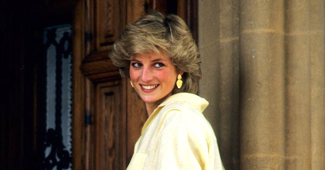 Princess Diana on holiday in Majorca, Spain, 1987. | Photo: Getty Images