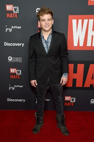 Jonathan Lipnicki at Museum Of Tolerance on October 07, 2019 in Los Angeles, California. | Photo: Getty Images