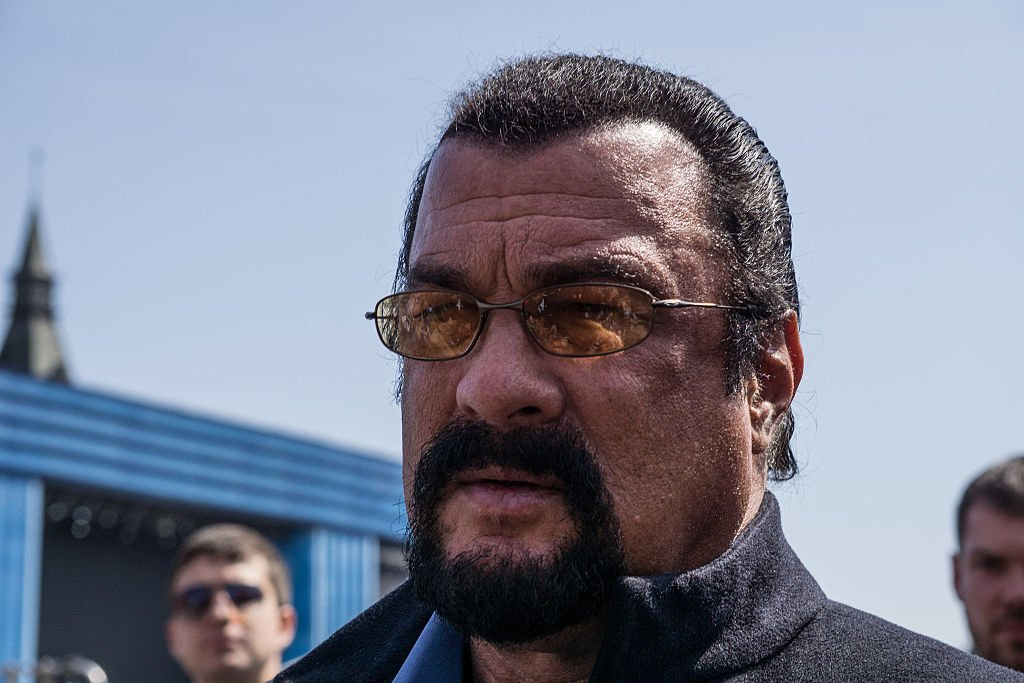 Steven Seagal.|Fuente: Getty Images