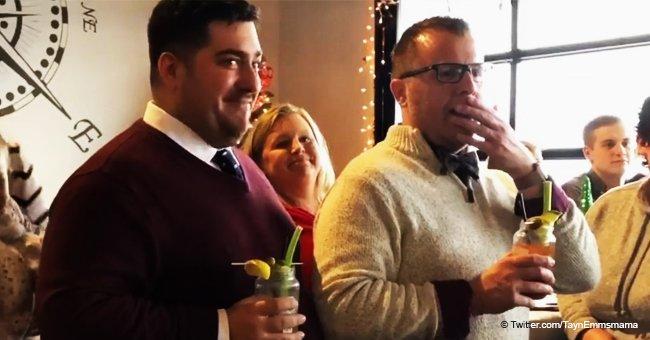 Schwuler Lehrer kann Tränen nicht zurückhalten, als seine Schüler ihn mit Auftritt überraschen