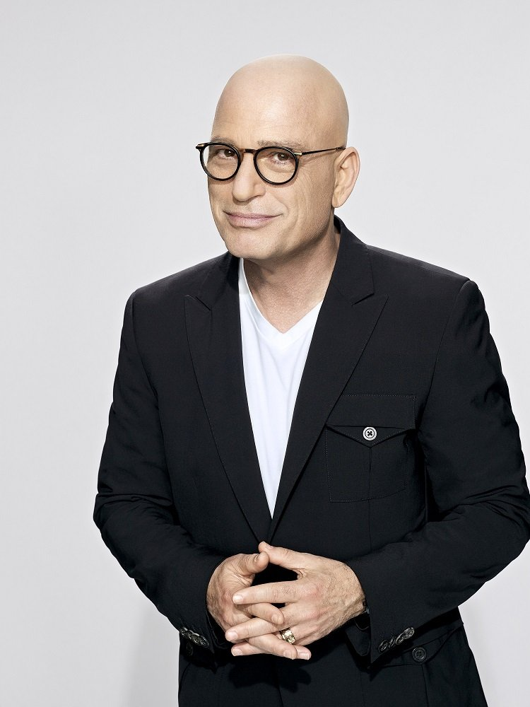 """Howie Mandel in a publicity photo for """"America's Got Talent"""" season 12 in 2017 