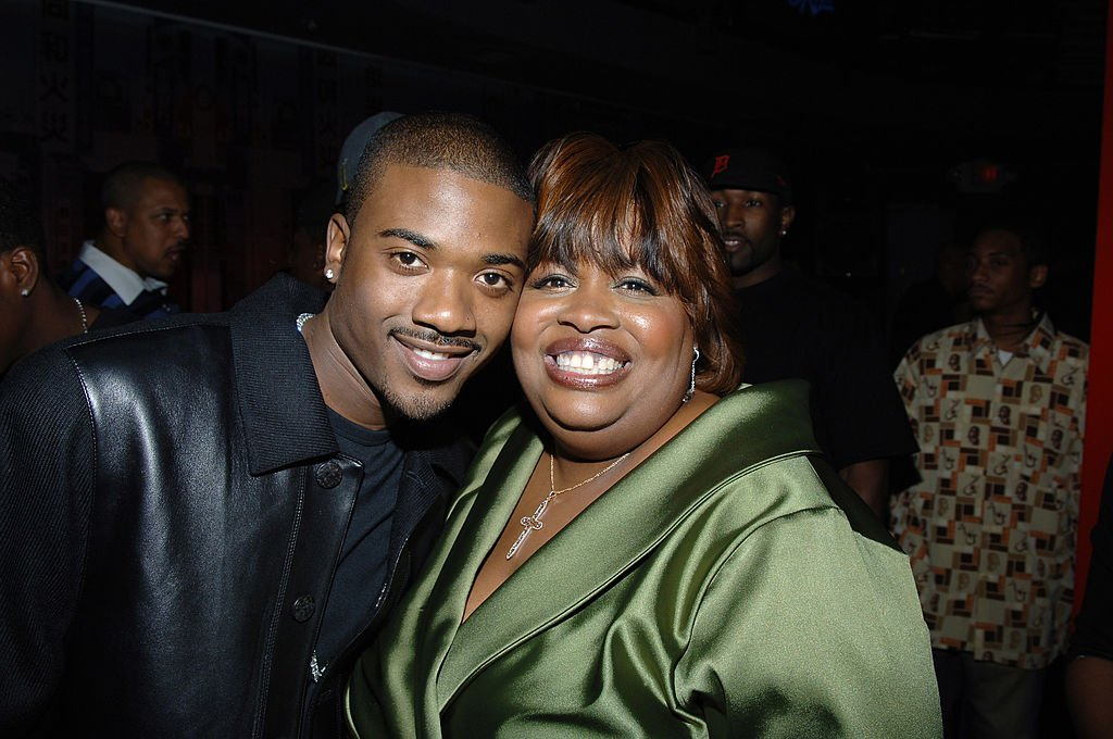 """Ray J and Eunetta Boone during UPN's """"One on One"""" 100th Episode Party in Los Angeles 