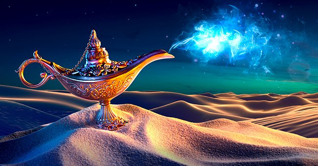 Daily Joke: One Man Finds a Lamp with a Genie Inside