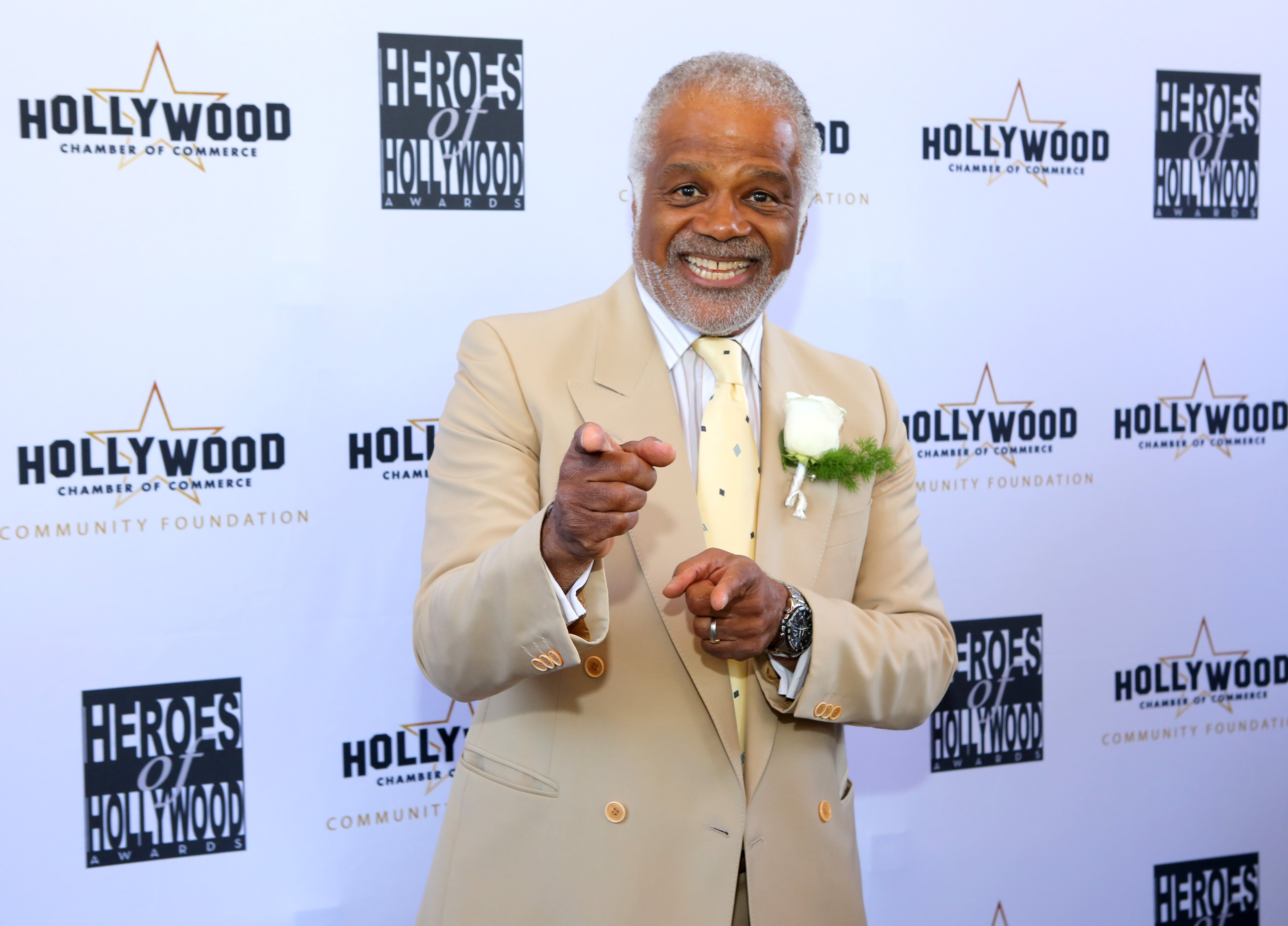 Ted Lange attend The Heroes of Hollywood Awards Luncheon at the Taglyan Cultural Complex on June 06, 2019 | Photo: Getty Images