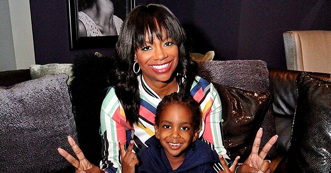 Kandi Burruss' 4-Year-Old Son Ace Helps Dad Todd Tucker Do Chores during Quarantine