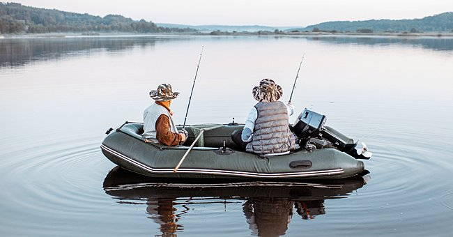 Daily Joke: Two Men Are Drinking Beer and Fishing