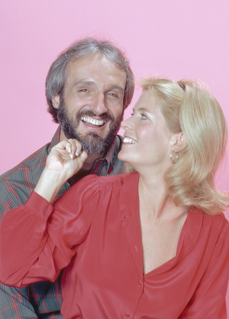 Michael Gross as Steven Keaton and Meredith Baxter as Elyse Keaton circa 1983 | Photo: Getty Images