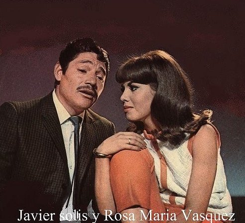 Javier Solís y Rosa María Vásquez.   Foto: Flickr