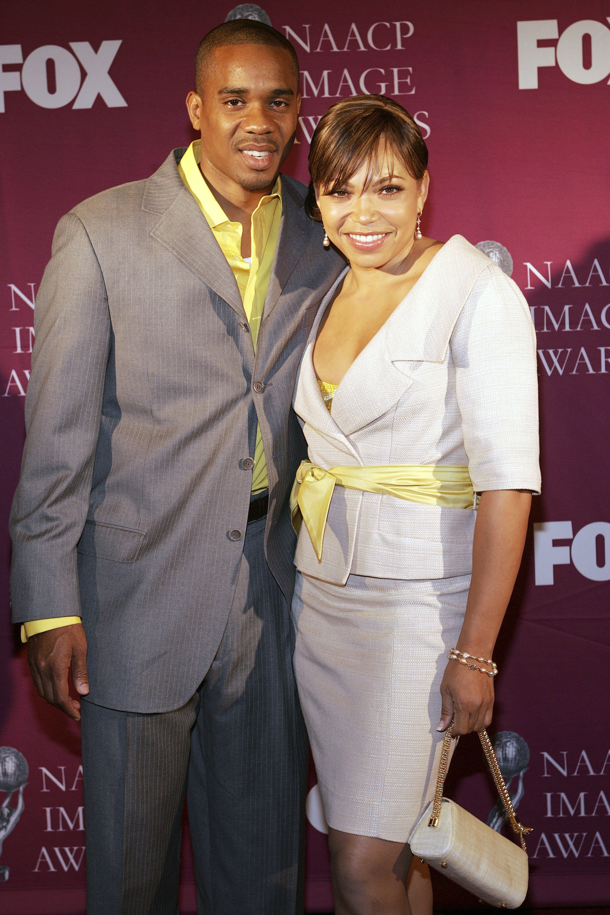 Duane Martin and Tisha Campbell Martin attend the 36th Annual NAACP Image Awards Luncheon at the Beverly Hilton Hotel on March 5, 2005. | Photo: Getty Images