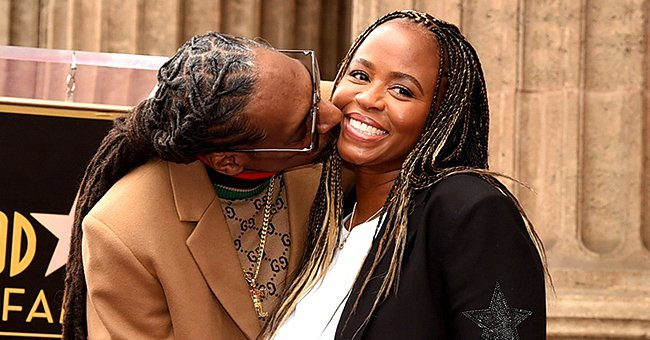 See How Similar Snoop Dogg's Grandkids Look as They Pose with Their Grandma in a Rare Snap
