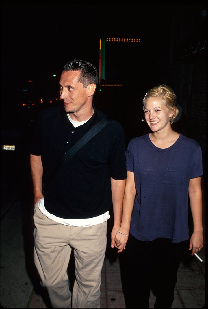 Jeremy Thomas and Drew Barrymore. I Image: Getty Images.