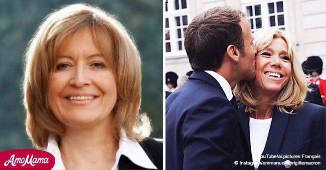 Une chroniqueuse de 'France 2' fait une petite référence à la différence d'âge entre Brigitte et Emmanuel Macron