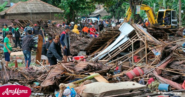 Over 200 people killed and 840 injured by tsunami in Indonesia