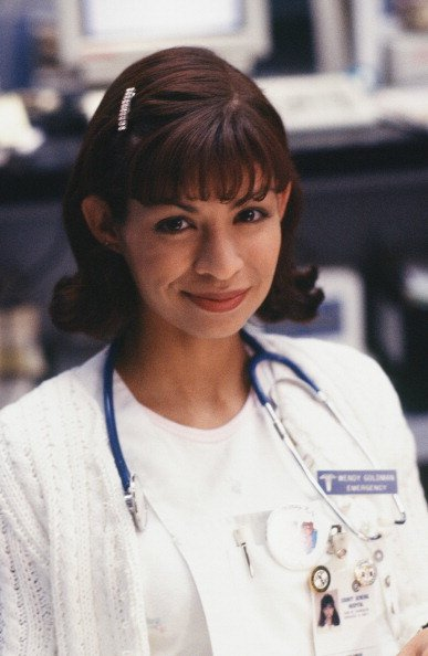 "Vanessa Marquez as Nurse Wendy Goldman in the television series, ""ER."" Photo created in January 1995. 