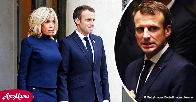 """""""Vous vous foutez de moi?"""":  L'erreur dans l'album photo du président qui a """"vexée"""" Brigitte Macron"""