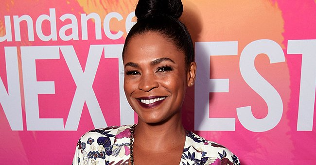 Nia Long from '47 Meters Down' Shares Adorable Photos with Look-Alike Son Holding Their Newly Adopted French Bulldog