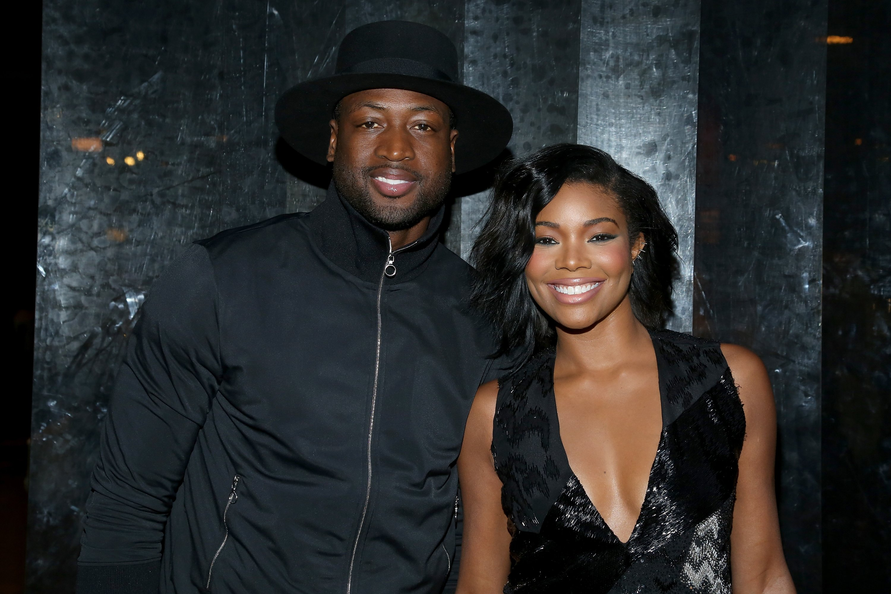 Gabrielle Union and Dwyane Wade at the Spring 2016 New York Fashion Week on September 13, 2015 in New York City.| Source: Getty Images
