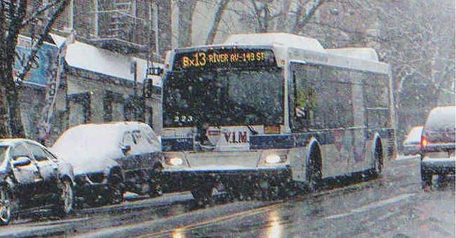 Melinda was kicked out of the bus on a wintry morning   Photo: Shutterstock