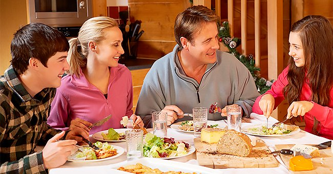 Daily Joke: Guy Came to His Girlfriend's House for a Family Dinner