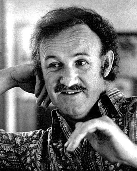 Newspaper interview photo of Gene Hackman, 1972. | Source: Wikimedia Commons
