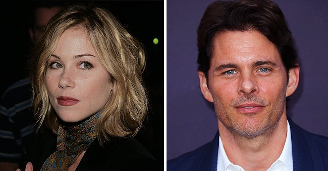 Portraits of Christina Applegate and James Marsden   Photo: Getty Images