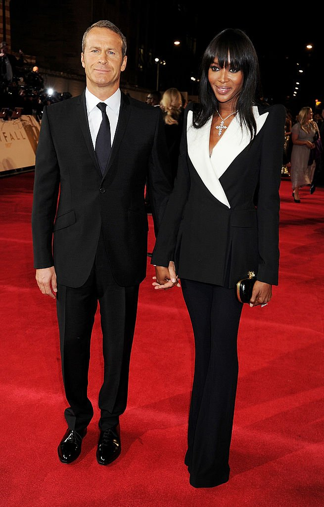 Vladislav Doronin and Naomi Campbell attend the Royal World Premiere of 'Skyfall' in October 2012 | Photo: Getty Images