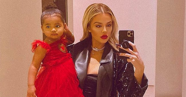 Khloé Kardashian's Unusual Jogging Style Involving Her Daughter True Looks Quite Effective