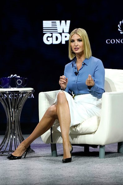 Advisor to the President Ivanka Trump speaks onstage during the 2019 Concordia Annual Summit - Day 1 at Grand Hyatt New York in New York City | Photo: Getty Images