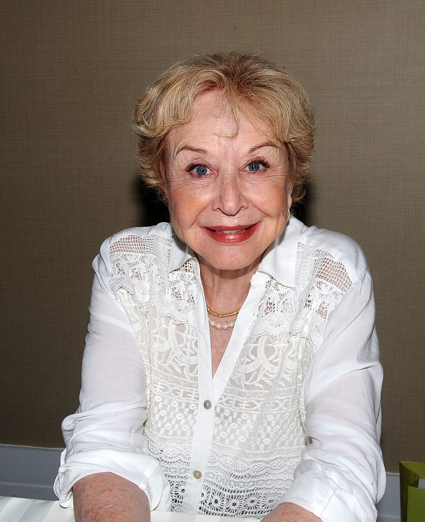 Michael Learned nimmt am 25. April 2015 an Tag 2 der Chiller Theatre Expo im Sheraton Parsippany Hotel teil | Quelle: Getty Images